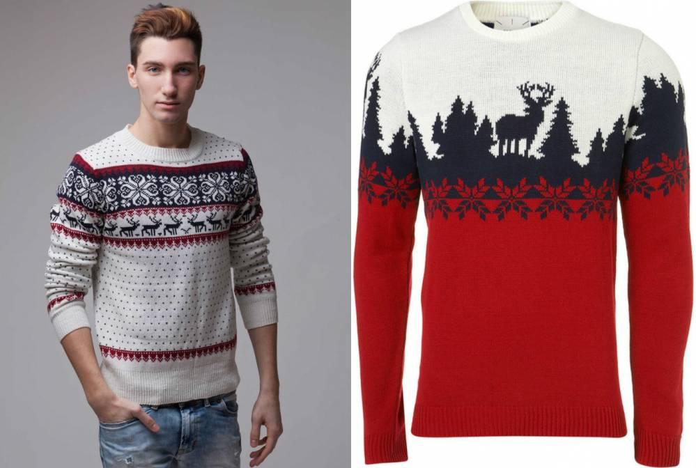 0e159abce69 Мужской свитер с оленями добавит непосредственность и оригинальность ...