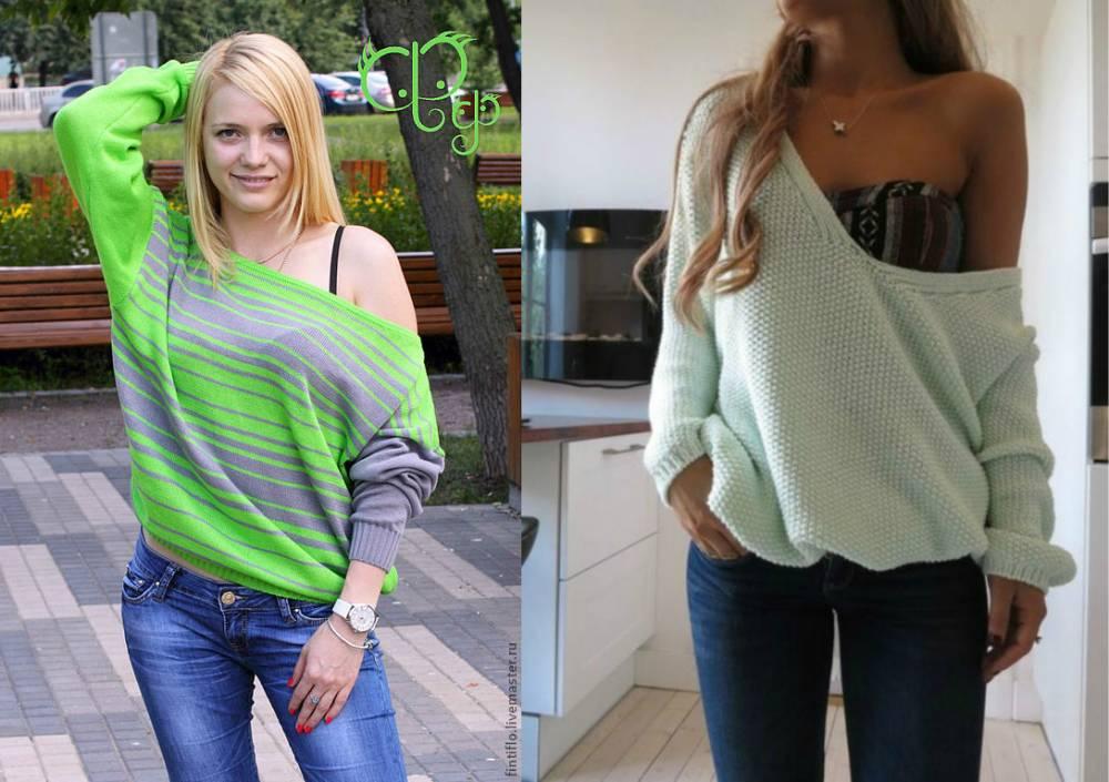 свитер на одно плечо добавит изюминку в ваш образ мода от кутюрru