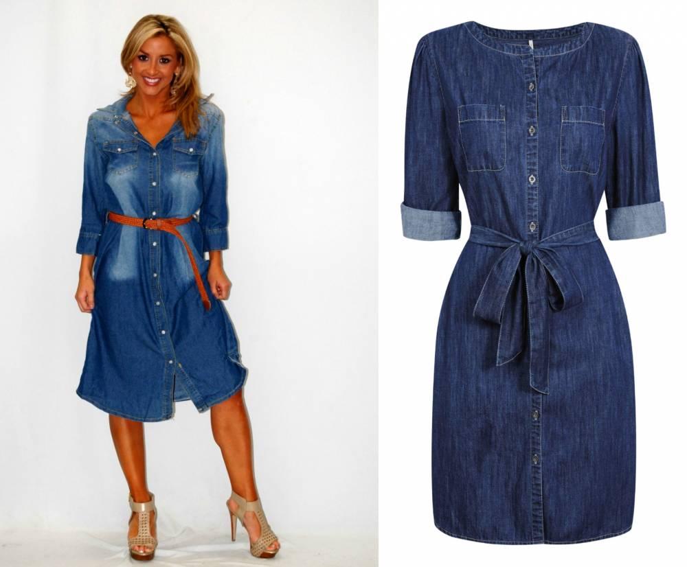 dd69570909c3275 Джинсовые платья: обзор моделей и правила сочетания | Мода от Кутюр.Ru