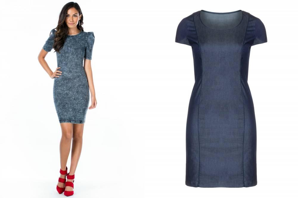 702b87a2a2c Джинсовые платья: обзор моделей и правила сочетания | Мода от Кутюр.Ru