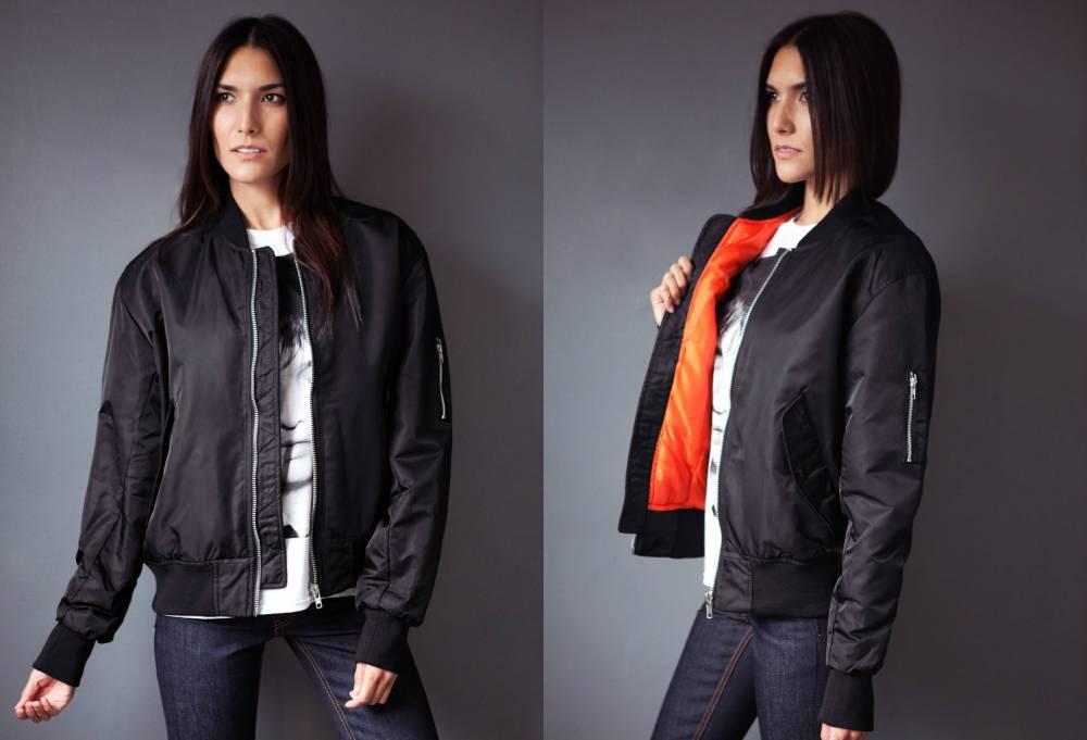Женская куртка бомбер: особенности выбора и правила комплектования   Мода от Кутюр.Ru