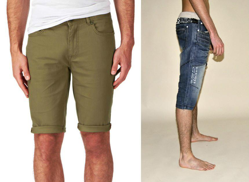 802b1492afe46 Мужские джинсовые шорты: как выбрать и с чем правильно сочетать ...