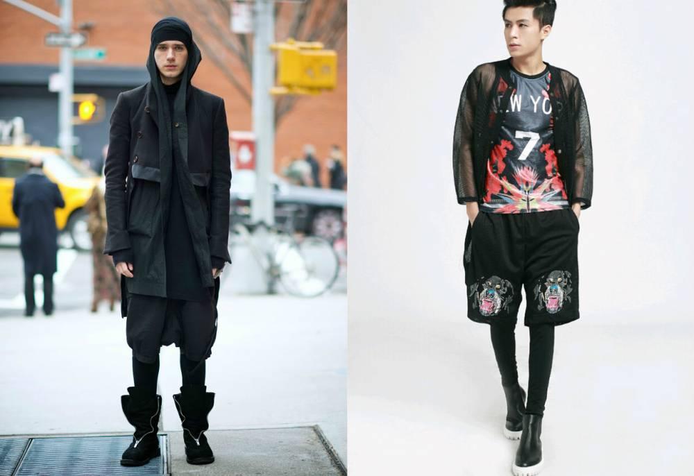 68b1d1f5325 Готический стиль в одежде  особенности модных образов