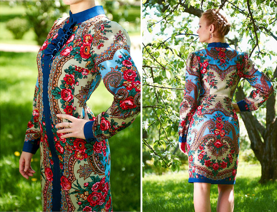 Русский стиль в одежде — богатство и роскошь русских традиций   Мода от  Кутюр.Ru