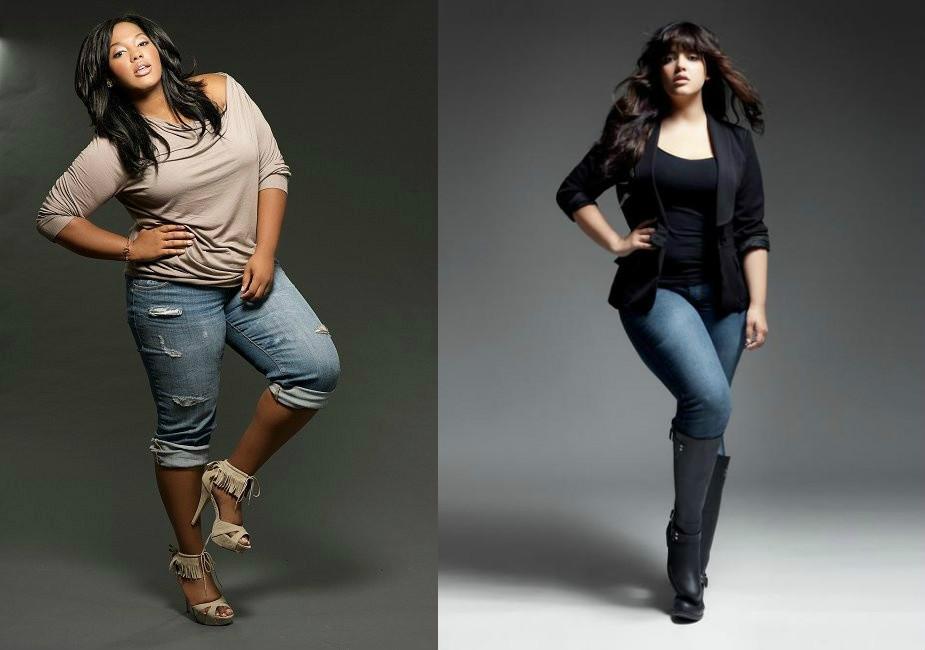 3a19a554ffb Подбираем правильный стиль одежды для полных девушек | Мода от Кутюр.Ru