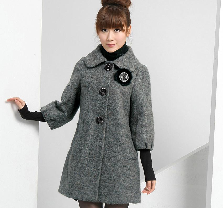 142601ecc3d2 Женское драповое пальто подчеркнет вашу индивидуальность | Мода от ...