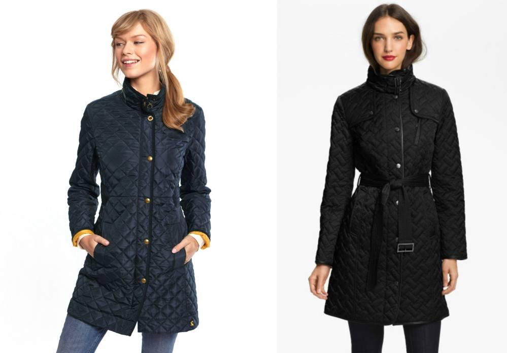 класичне прилягання Нові надходження Лос-Анджелес Женское стеганое пальто для любой погоды   Мода от Кутюр.Ru