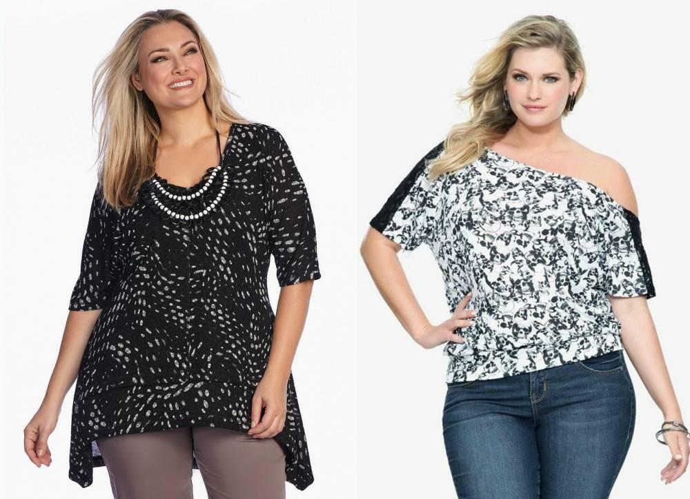 4253fce4ce08 Подбираем правильный стиль одежды для полных девушек | Мода от Кутюр.Ru
