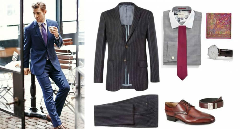 9c1a9cc4b68 Деловой стиль одежды для мужчин  базовый