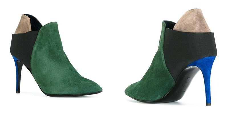 6c7e2979bd73 Зеленые ботильоны: для ярких и стильных модниц | Мода от Кутюр.Ru