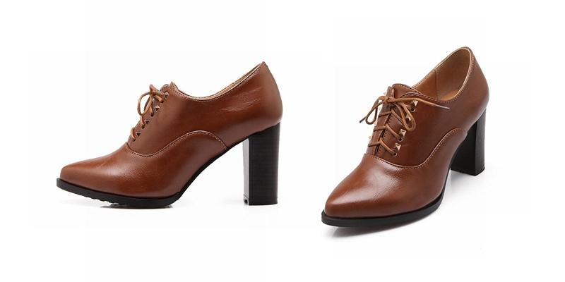 e6d62f284383 Коричневые женские оксфорды: создаем стильные ансамбли | Мода от ...