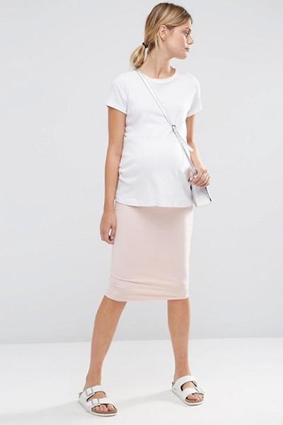 d4a235090cf6773 Юбки для беременных – модно, комфортно, стильно | Мода от Кутюр.Ru