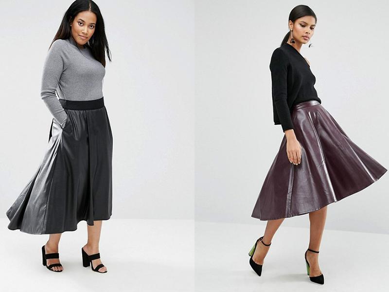 f05974d28e1 Немалым спросом среди женщин пользуется юбка-солнце из кожзама. Это  уникальный образец
