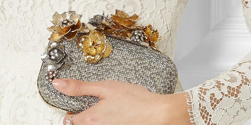 5000ec54d589 Советы невестам как выбрать свадебные клатчи   Мода от Кутюр.Ru