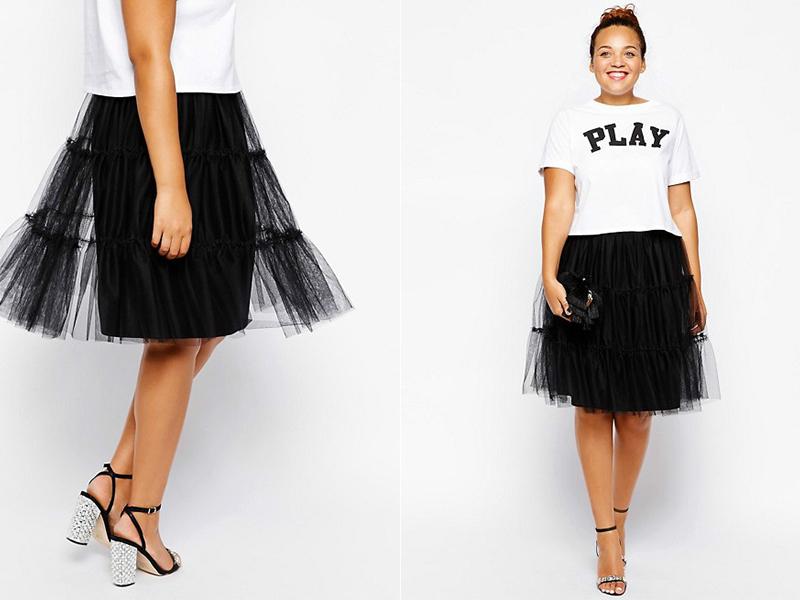 98562369 Многоярусные юбки создают женственный стиль
