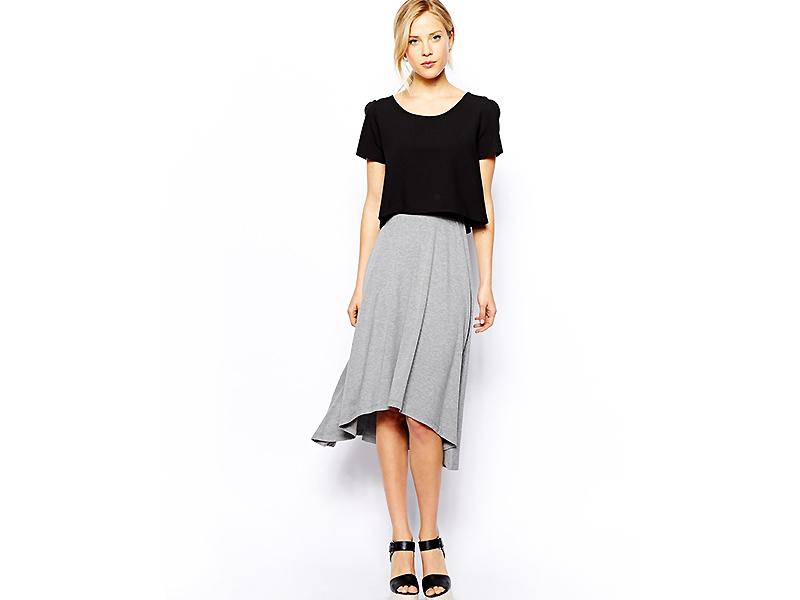 039da503c80 Самой изящной и загадочной по праву можно назвать серую юбку
