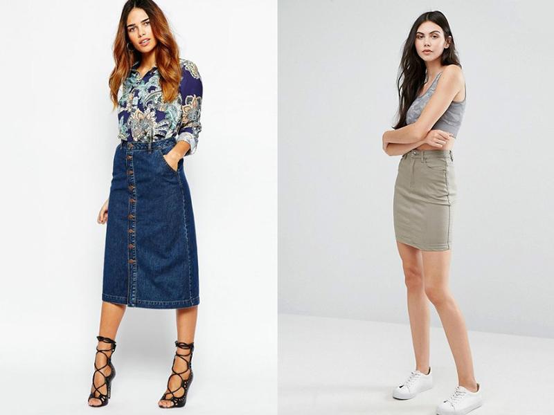 78535505 Прямая джинсовая юбка – универсальная модель для любого гардероба