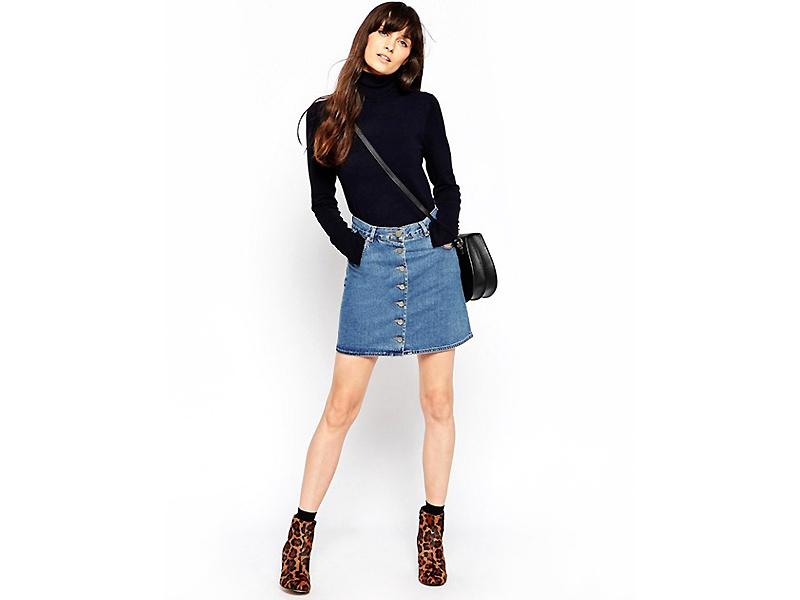 107bcc6bc66 Короткие джинсовые юбки  для женщин со стройными ножками