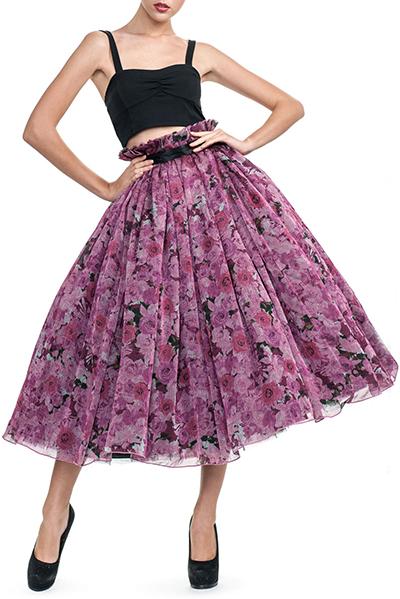 2145a43a4f1 Пышная шифоновая юбка – для городских модниц