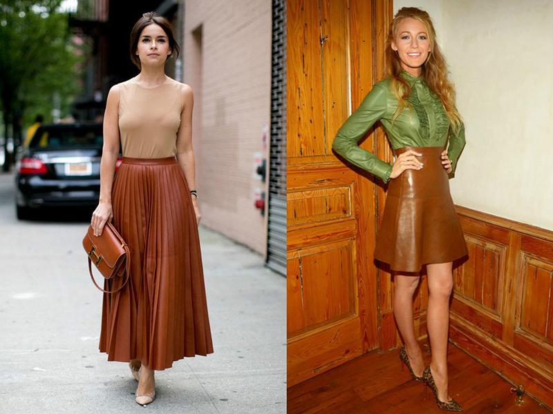 a60ade75105 юбка в складку – тоже одна из вариаций расклешенных юбок