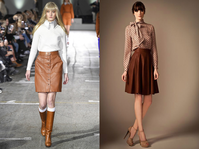25f8a7e7e52 юбка с высокой посадкой – хорошо гармонирует со свитером крупной вязки