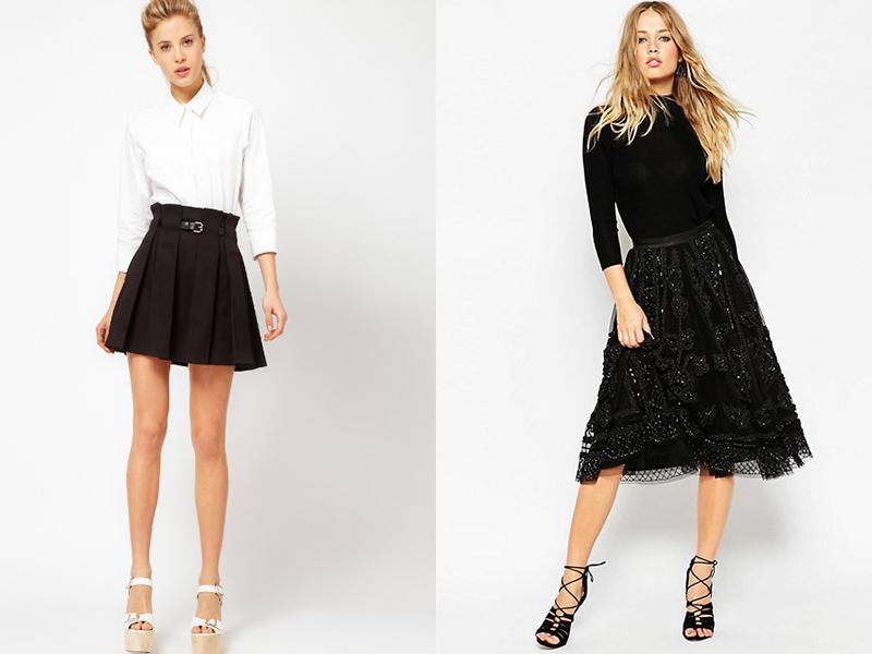 9ba973dc565 С чем носить пышную юбку с завышенной талией  Стилисты рекомендуют  использовать классические блузы