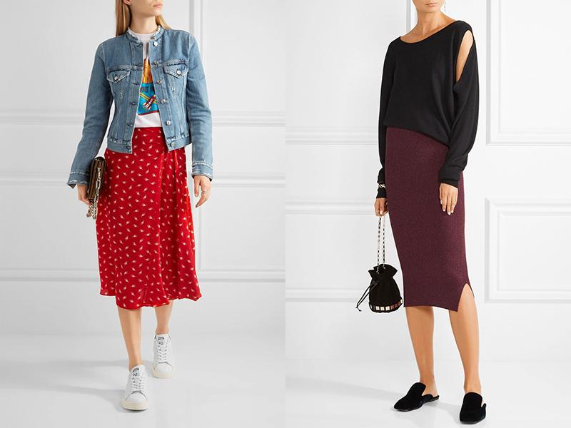 e164e562ab9 С чем носить красную юбку  Для составления модного летнего ансамбля  подойдут укороченные пиджаки