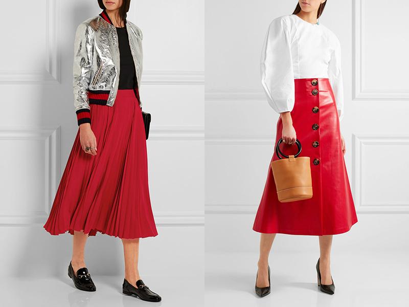 d4d74b1c242 Наиболее распространенными являются красные прямые или трапециевидные юбки.  Это универсальные изделия