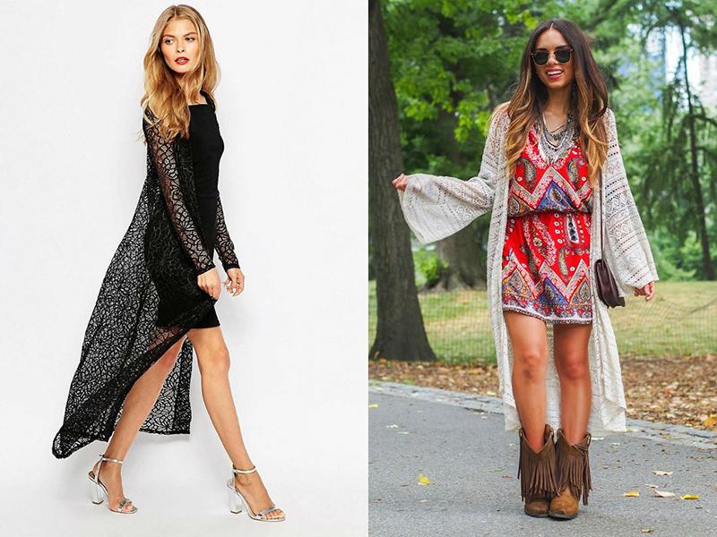 сочетаем кардиган с платьем советы и рекомендации стилистов мода