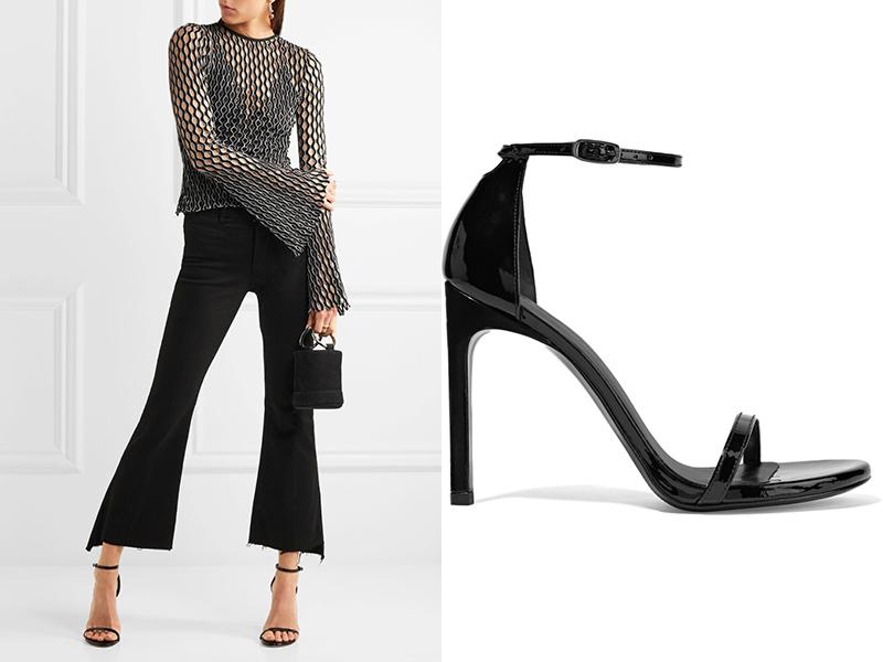 05250ffe1592 Черные босоножки на шпильке: элегантные, эффектные, дерзкие | Мода ...