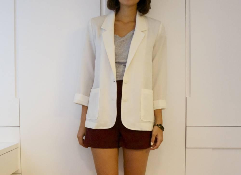 5540adfea721 Женский льняной пиджак: создай свой романтичный образ   Мода от Кутюр.Ru