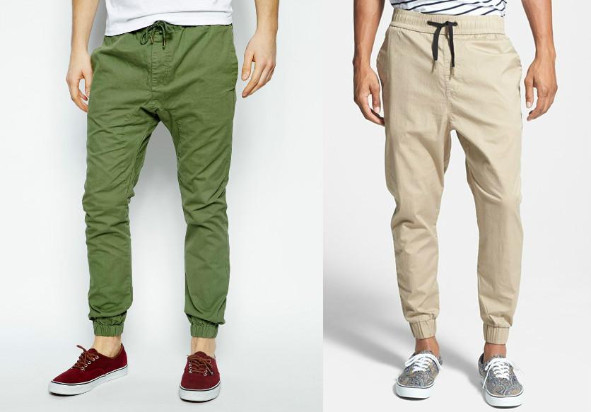 Мужские брюки-джоггеры — важные особенности выбора | Мода от Кутюр.Ru