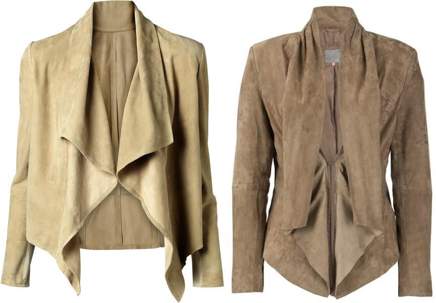 f8c37806430 Женский замшевый пиджак  самые актуальные модели сезона