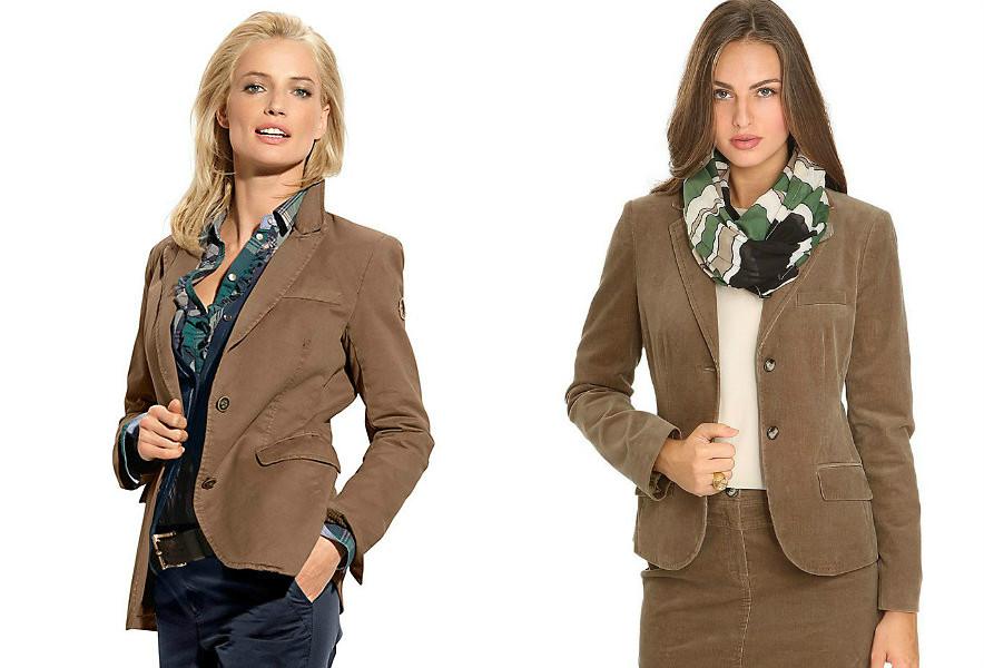 С чем носить вельветовый пиджак женский фото