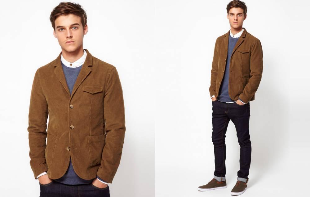 ae0364d143d Коричневый мужской пиджак – одежда для джентльмена