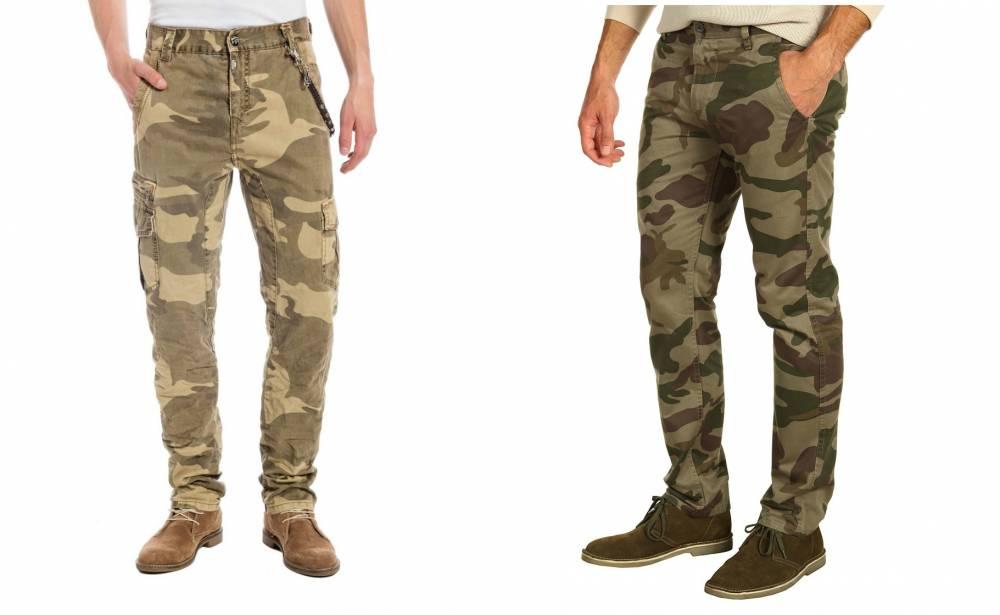 f36809ed Особую брутальность и мужественность придают мужские брюки в стиле милитари  ...