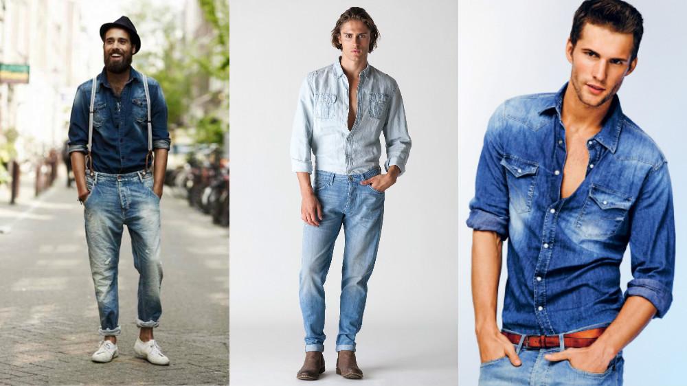 9b30c93427b Как носить рубашку с джинсами  все