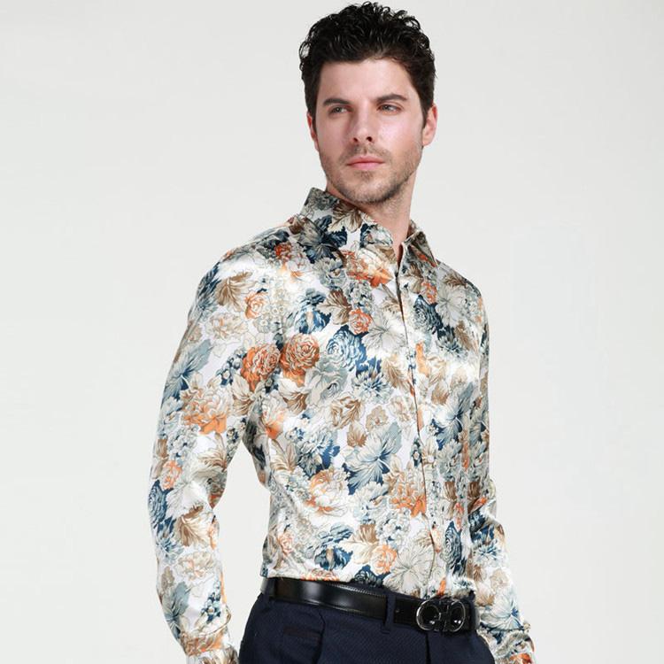 91179a78710 Мужская шелковая рубашка  как сделать правильный выбор