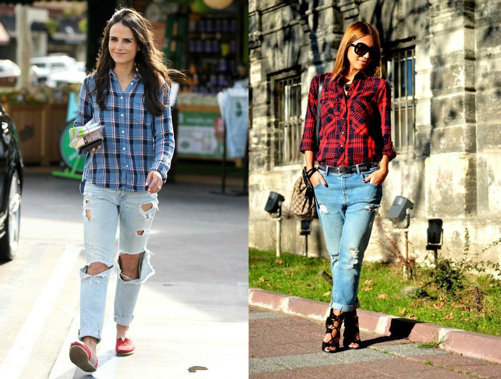 a5d1c5d48dcc835 Женская фланелевая рубашка: современные образы и правила носки ...