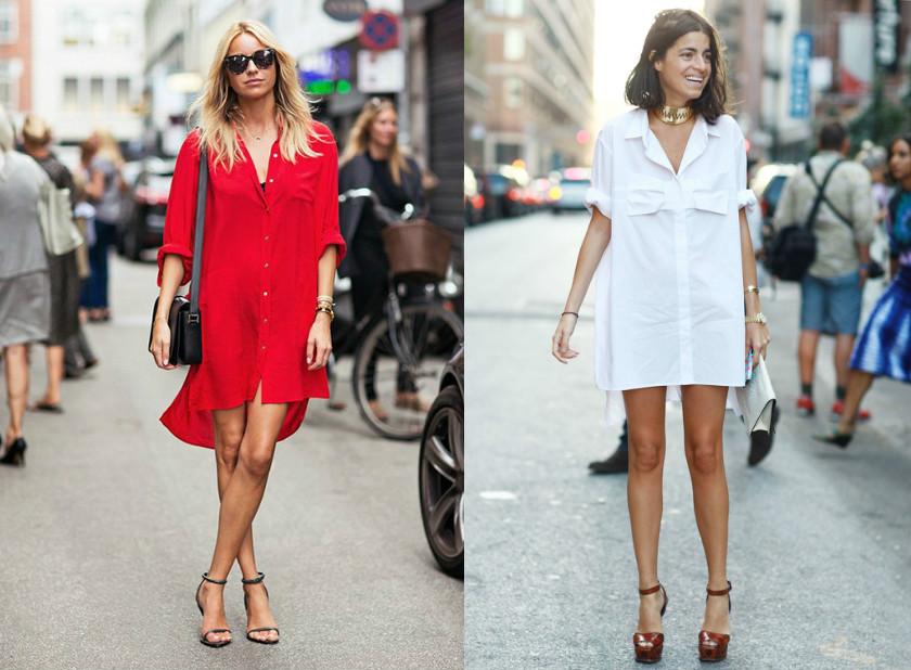 855f57dfc4f Платье-рубашка подчеркнет вашу индивидуальность