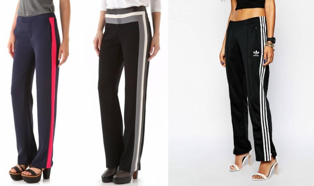 a13b543f300a Женские брюки с лампасами. Как решиться надеть, советы стилистов ...