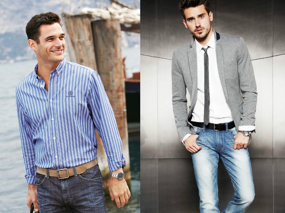 0f8b7c0c0ac Как носить рубашку с джинсами  все