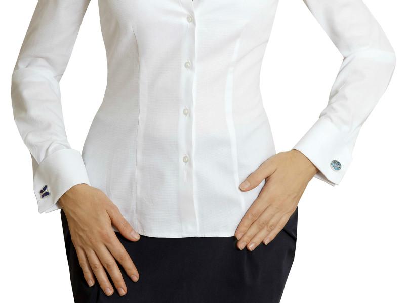182f5f8dc33 Особенности выбора и носки женской рубашки под запонки