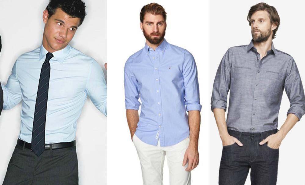 ded8c6c2385f5af Приталенная рубашка: подчеркнет все достоинства настоящего мужчины ...