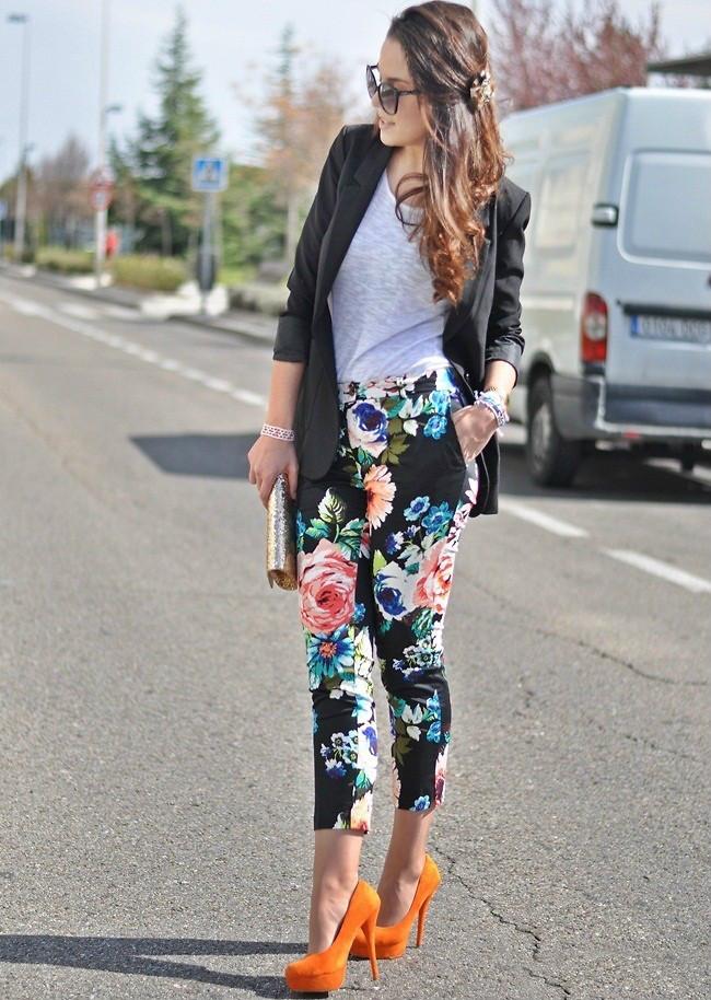 избежать джинсы в цветочек с чем носить фото обязательный навык