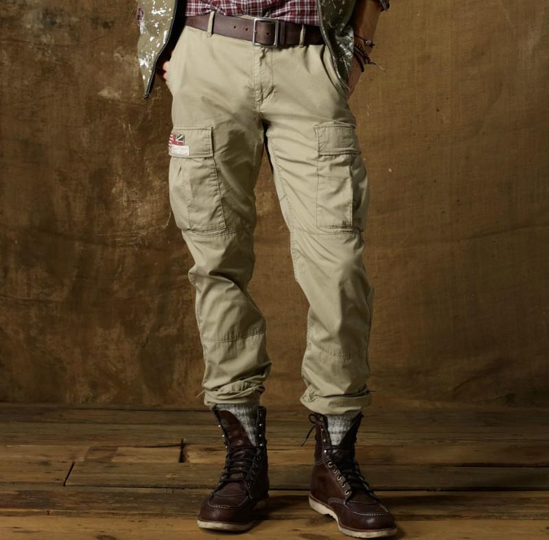 7f457e34 Мужские брюки в стиле милитари — комфорт и удобство прежде всего ...