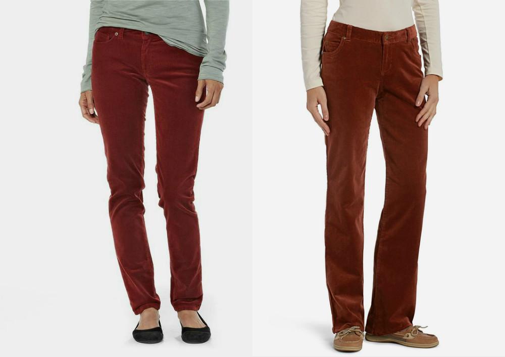 6bf9b172f6f3 Женские вельветовые брюки: особенности модели и правила носки | Мода ...