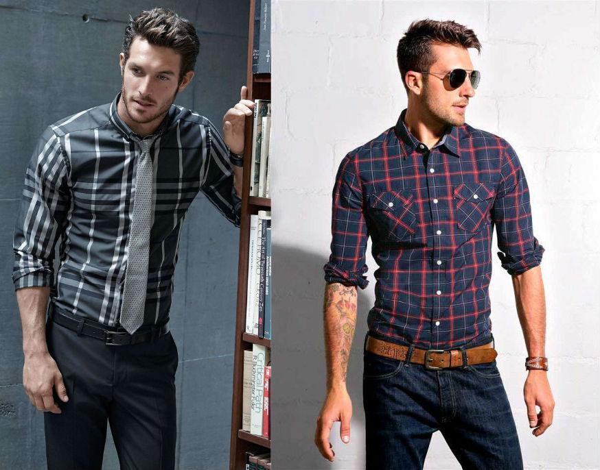 8a9fc48e231 Рубашки в клетку – основной элемент мужского гардероба