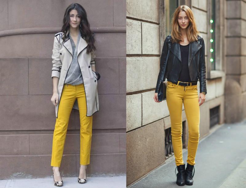 качество конечно с чем носить брюки горчичного цвета фото стандартные образцы