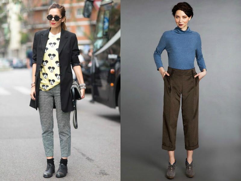 50e6a7b50 Укороченные брюки – элегантность, изящество и стиль | Мода от Кутюр.Ru